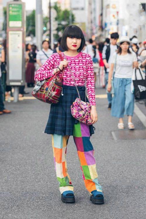 تیپ و لباس ها به سبک دختران و پسران ژاپنی