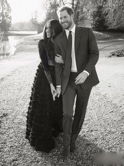 عکس های عاشقانه شاهزاده بریتانیا و نامزدش