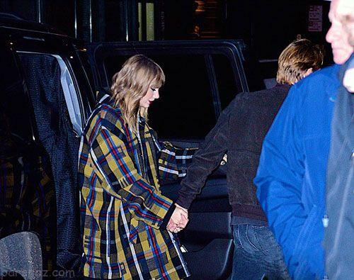 تیلور سویفت و دوست پسر جدیدش در انظار عمومی