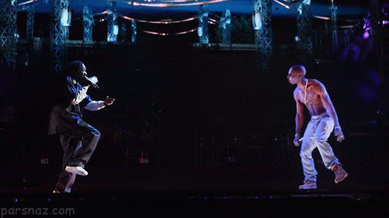 اجرای کنسرت اسطوره های موسیقی پس از مرگ