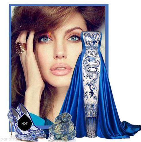 لباس شب به سبک و سلیقه آنجلینا جولی