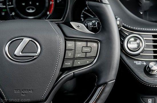 بررسی خودرو لکسوس LS500 بهترین و لوکس ترین