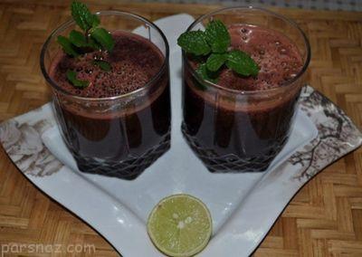 روش تهیه آب میوه و سبزیجات نوشیدنی