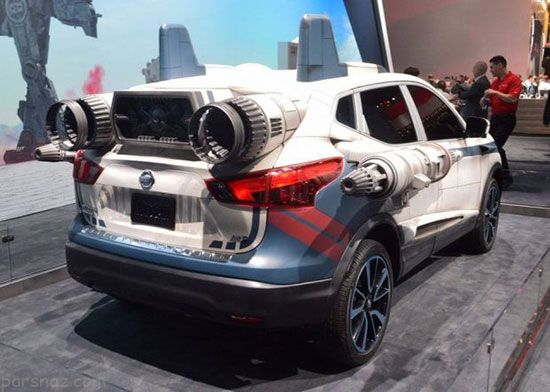 خودروهای عجیب جنگ ستارگان در نمایشگاه لس آنجلس