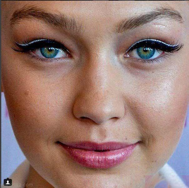 تصاویر چهره جذاب ستاره های هالیوودی از نمای نزدیک