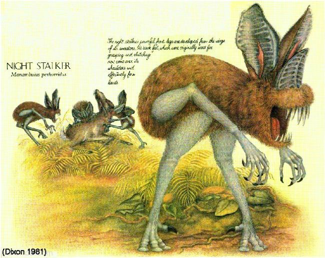 عجیب ترین گونه های جانوری که در آینده بوجود می آیند