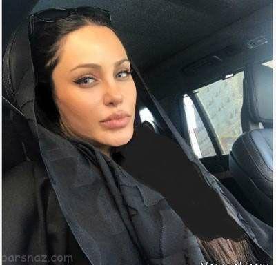 درباره رامانا دختر ایرانی بدل آنجلینا جولی +عکس