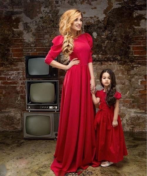 بهترین مدل های ست مادر و دختر جدید و شیک