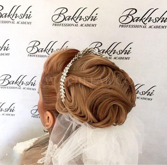 مدل های جذاب شینیون موی عروس شیک 2018