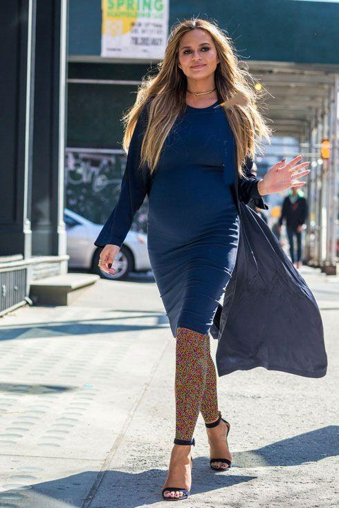 جدیدترین مدل لباس بارداری به سلیقه کریسی تیگن