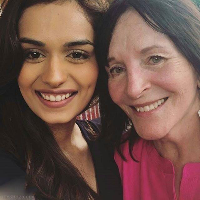 همراه با مانوشی چیلار زیباترین دختر شایسته هندوستان