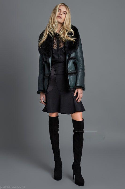 مدل لباس زنانه زمستانی برند Roberto Cavalli