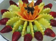 کلیپ آموزش تزیین میوه های شب یلدا باستانی