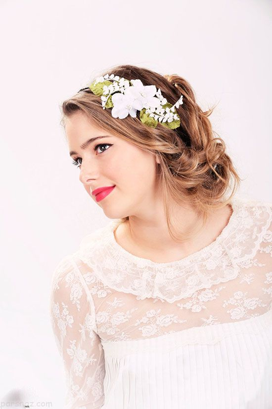 مدل های تاج گل عروس 2018 - (22 عکس)