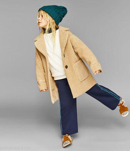 مدل های شیک پالتو دخترانه زمستانی 2018