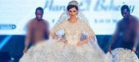 لباس مدلینگ جذاب مصری جنجالی شد +عکس