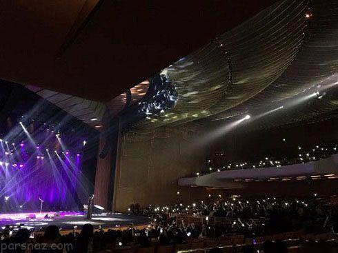 عکس های اولین کنسرت خواننده زن در عربستان