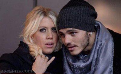 تصاویر جنجالی فوتبالیست 24ساله و همسر 31 ساله اش