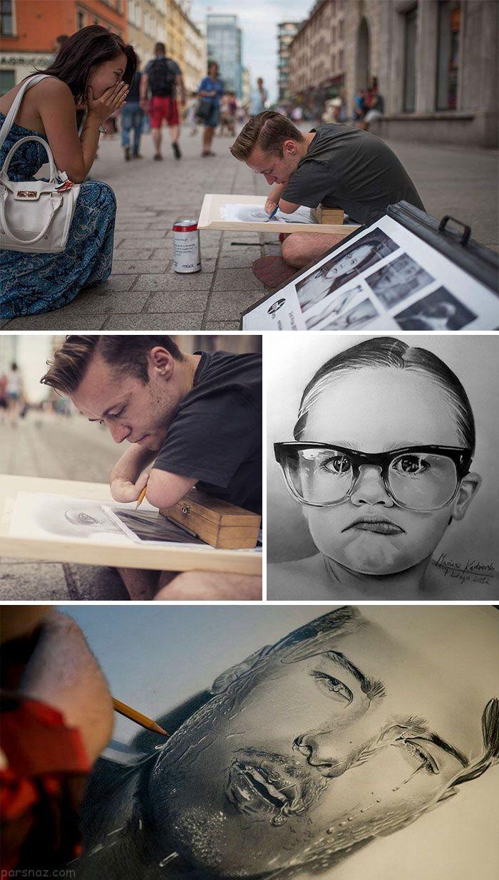 افراد معلول که استعدادهای هنری بالایی دارند