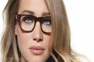 خانم های عینکی به این صورت آرایش کنند