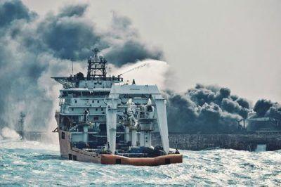 مرثیه ای دردناک برای غرق شدن کشتی سانچی