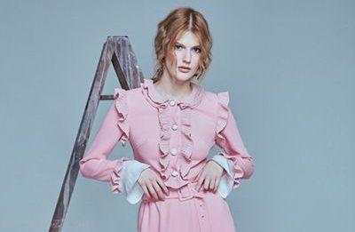 عکس های مدل لباس زمستانی شیک زنانه برند Daria Bardeeva
