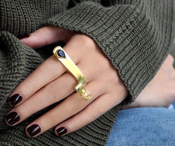 مدل های طلا جواهرات شیک از برند ایرانی آناهیتا