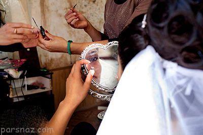 عکس های تلخ از عروسی دختران نوجوان | ازدواج دختر بچه ها با سن کم
