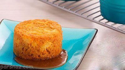 آموزش درست کردن کیک هویج بخارپز خوشمزه