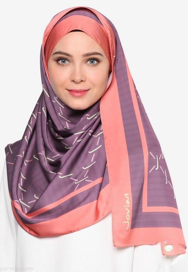 جدیدترین مدل های شال و روسری دخترانه 98 و 2019