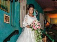 ازدواج و شب زفاف این زن با یک روح +عکس