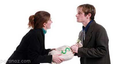 دعوا بر سر دروغ های مالی در زندگی مشترک