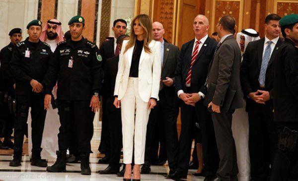 همراه با ملانیا ترامپ خوش تیپ ترین بانوی کاخ سفید