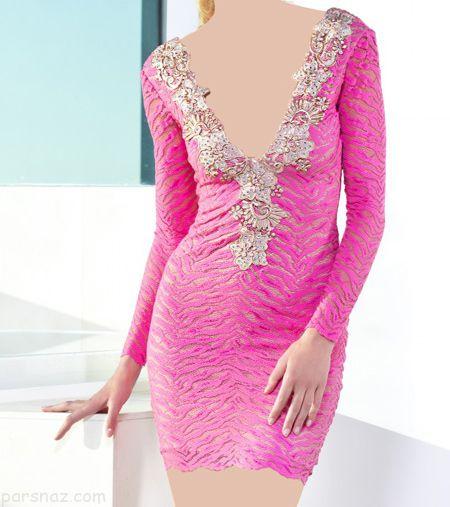 شیک ترین مدل های لباس مجلسی کوتاه 2018