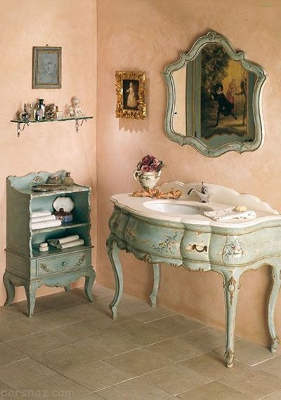 بهترین دکوراسیون حمام با استفاده از کاشی سبز