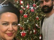 عکس های کریسمسی بهاره رهنما و همسرش در 2018