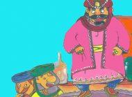 داستان جالب مثل بهلول و خرقه،نان جو و سرکه