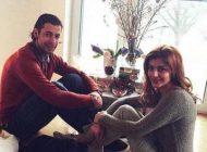 عکس جدید فریدون زندی و همسرش در خارج