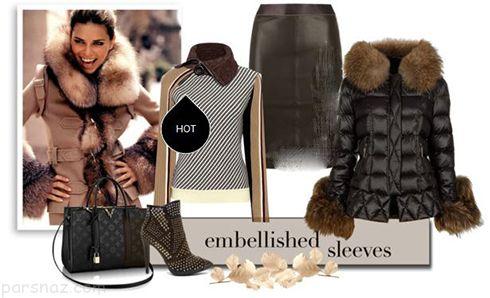 جذاب ترین ست های لباس زمستانی آدریانا لیما