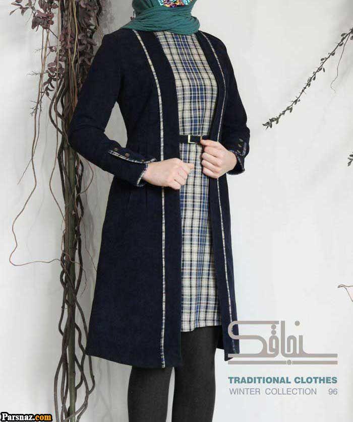 مدل مانتو مجلسی عید ۱۳۹۹ زیباترین مدل های مانتو مجلسی عید نوروز ۹۹