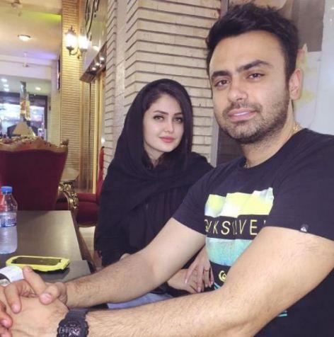عکس های مائده محمدی زیباترین مدل ایرانی و همسرش