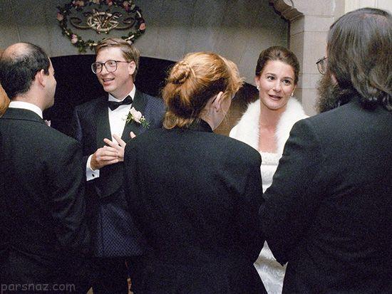 مراسم ازدواج موفق ترین افراد ثروتمند جهان