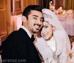کیک بارداری همسر رضا قوچان نژاد +عکس