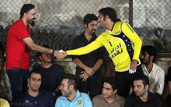 علاقه خواننده ها و فوتبالیست ها نسبت به همدیگر