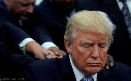 عکس هایی از سال اول ریاست جمهور دونالد ترامپ