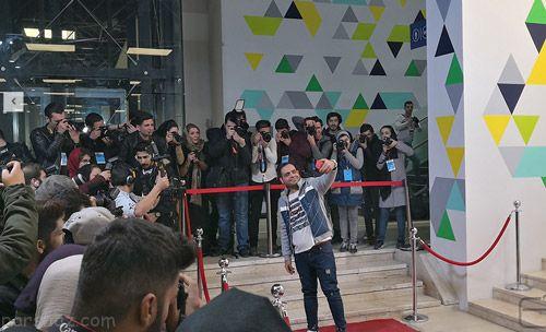 عکس های جالب از مراسم شاخ های معروف اینستاگرام ایران در باغ کتاب