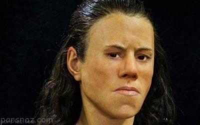 عکس و چهره دختران در 9000 سال پیش چگونه بوده است؟