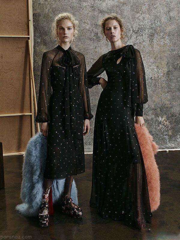 مدل های شیک لباس مجلسی برند Erdem