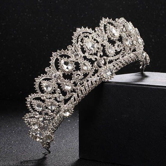 بهترین و شیک ترین مدل های تاج عروس اروپایی 2018