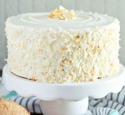 روش درست کردن کیک نارگیلی خوشمزه و عالی